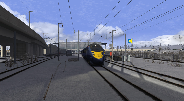 Screenshot of E1: Ebbsfleet to St Pancras