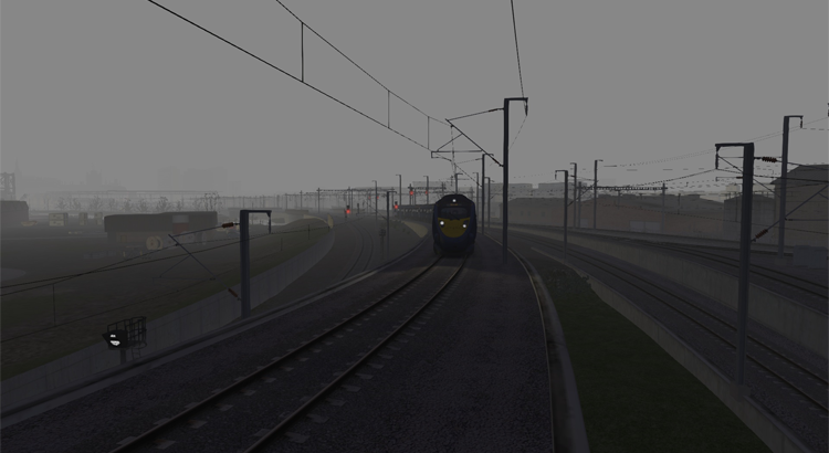 Screenshot of E2: St Pancras to Strood